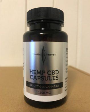 CBD Kapsler 1500 mg 30 stk