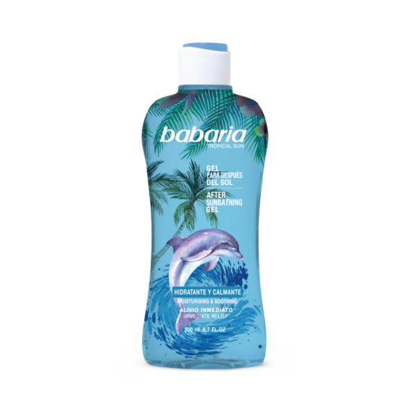 aftersun gel tropical babaria