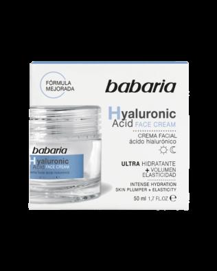 Babaria ansigtscreme med Hyaluronsyre – 50 ml