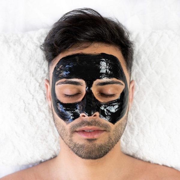 ansigtsmaske med aktivt kul babaria 3