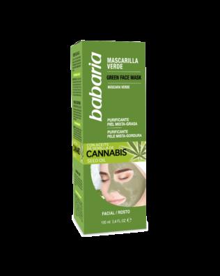 Babaria ansigtsmaske med cannabisolie – 100 ml