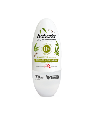 Babaria Antiperspirant Deo med cannabisolie – 70 ml