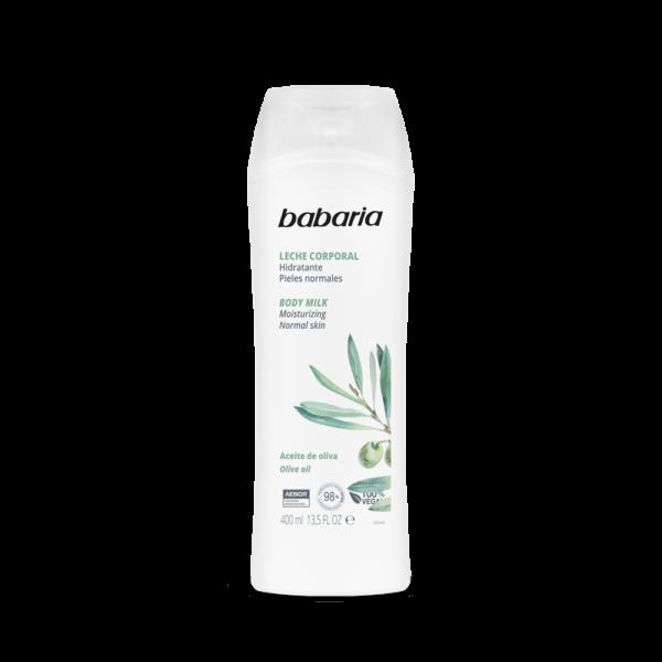 body lotion med olivenolie vegansk babaria body lotion