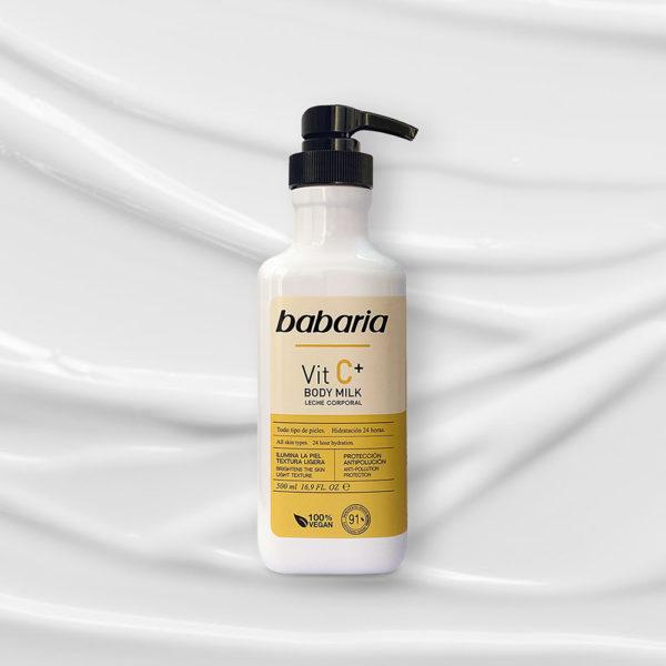 body milk vit c babaria 3