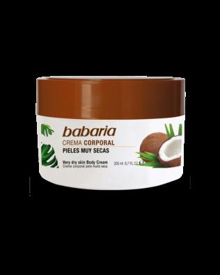 Babaria body creme til meget tør hud – 200 ml