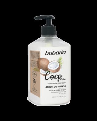 Babaria flydende håndsæbe med kokosolie – 500ml