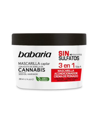 Babaria hårkur med cannabisolie – 200 ml