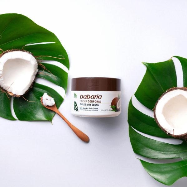 mascarilla capilar aceite coco babaria composicion 2