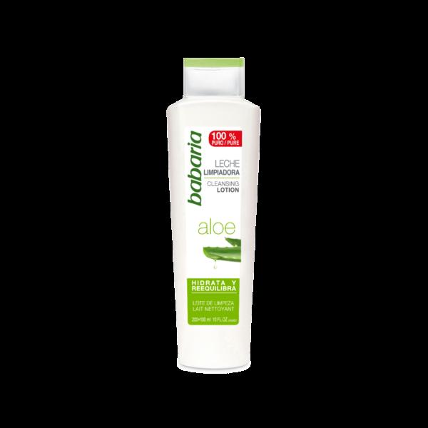 rensemælk med aloe vera vegansk babaria