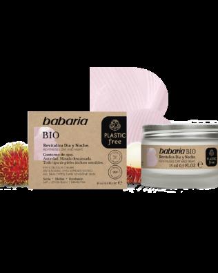 Babaria Bio revitaliserende dags- og natcreme – 50 ml