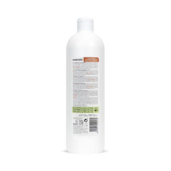 shampoo med kokosolie og biotin vegansk babaria 2
