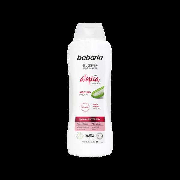 shower gel til atopisk hud vegansk babaria