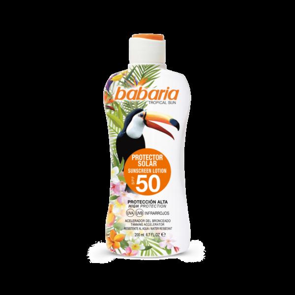 babaria sollotion tropical spf 50
