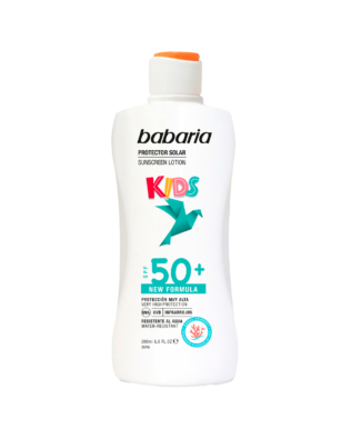 Babaria Sollotion til børn SPF +50 – 200 ml