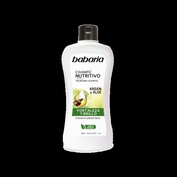 vegansk shampoo med argan olie babaria