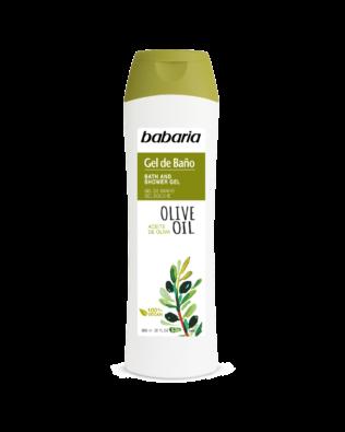 Babaria shower gel med olivenolie – 600 ml