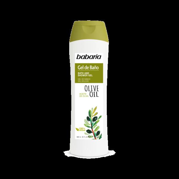 shower gel med olivenolie vegansk babaria