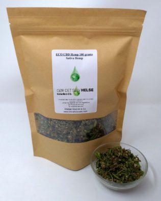 ØKO CBD Hamp 100 gram Sativa