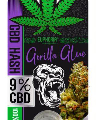 CBD Hash Gorilla Glue 1g – 9% CBD