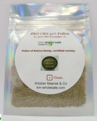 Øko CBD Crystals pollen 35% 1g