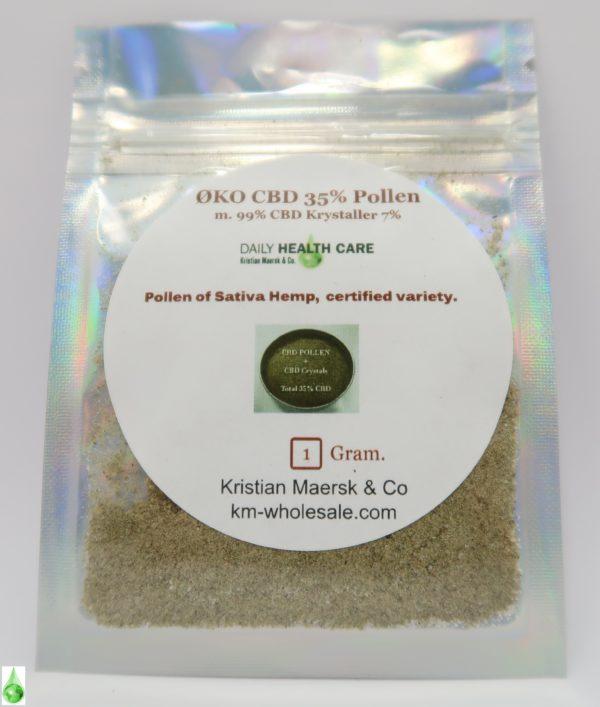 CBD Pollen 35 procent scaled