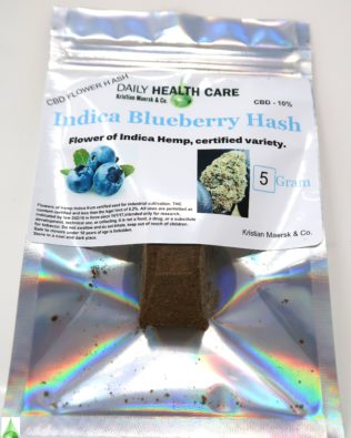 Indica Blueberry Hash 5 gram