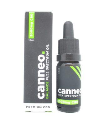 Canneo 20% CO2 udvundet CBD olie – 10 ml