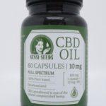 CBD olie kapsler 10 mg – 60 kapsler