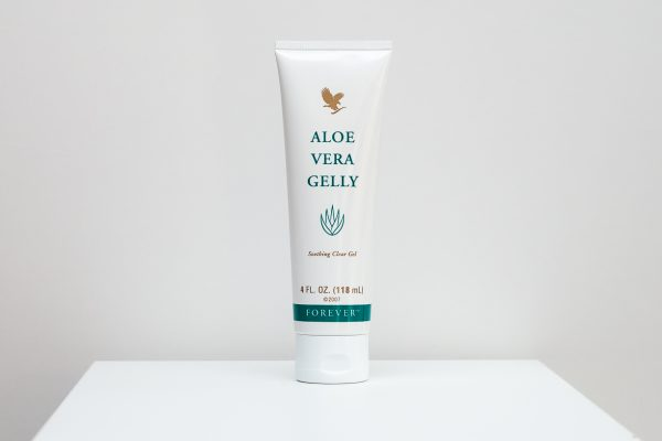 forever aloe vera gelly front