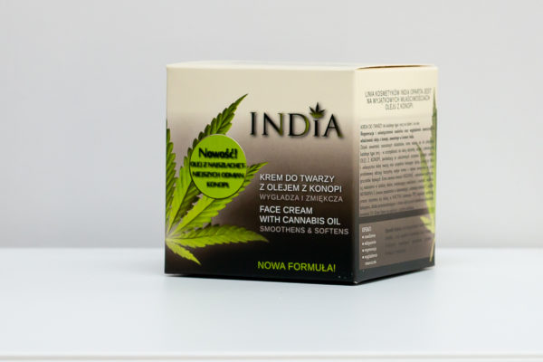 india face cream back