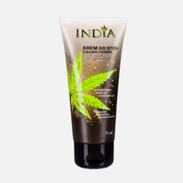 india foot creme front