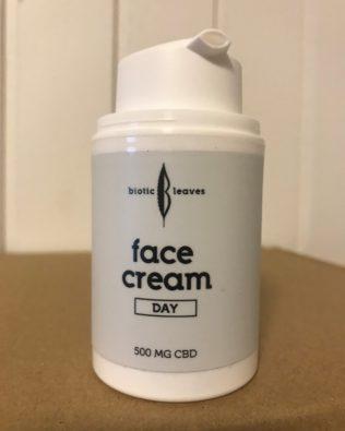 Dags creme med 500 mg CBD.