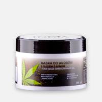 Hårkur med cannabisolie