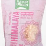 Pink Himalaya salt groft – 500 g kan bruges til saltpibe