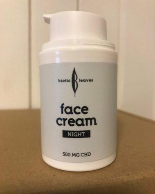 Nat creme med 500 mg CBD