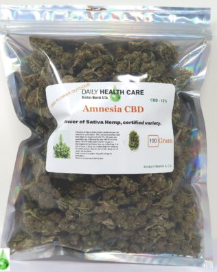 Amnesia CBD 12% – 100 g