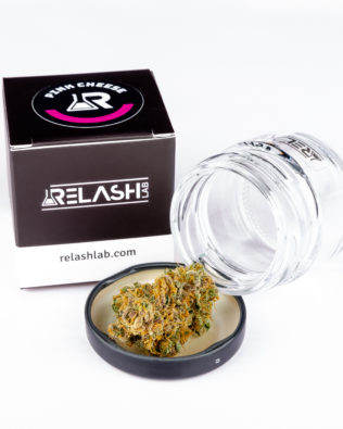 Relash Lab Pink Cheese CBD topskud 1g – 13% CBD (indoor – hydroponisk)