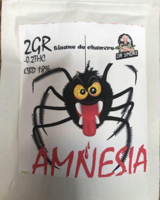 Amnesia Dr smoke topskud – 2g