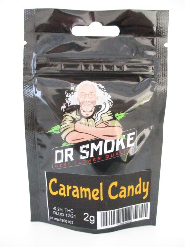 dr smoke caramel candy cbd topskud