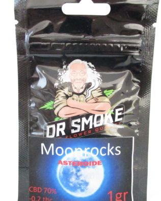 Dr Smoke Moonrock CBD topskud 1g – 70% CBD