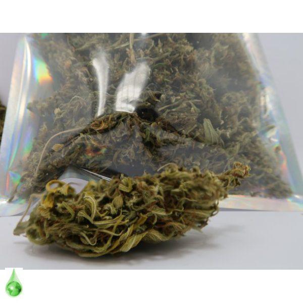 okologisk cbd pot flower 100g