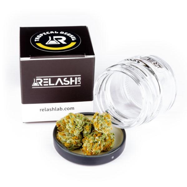 relash lab tropical diesel cbd topskud økologisk