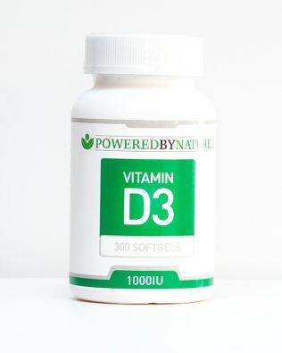 Vitamin D3 og K2 kapsler